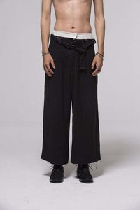 Baroque 18ss collection Over Wide Pants
