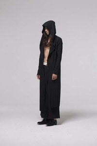 Baroque 18ss Collection Long Hood Cardigan