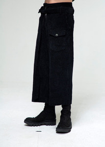 Baroque 18fw Collection Corduroy Pants[Black]
