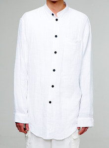 Baroque 18fw Collection Long Shirt [White]
