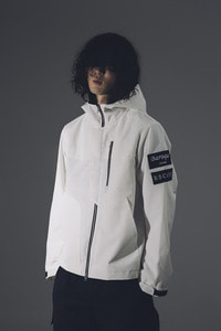 Baroque Seoul 19ss WaterProof WindBreaker Jarket [White]
