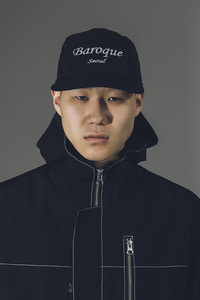 Baroque Seoul 19ss WaterProof  Camp Cap [Black]