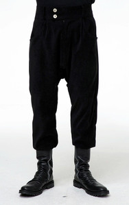 Baroque Crop Baggy Pants