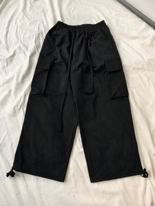 Baroqueseoul Wax Cotton Cargo Pants